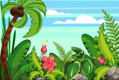 Desenhos animados da selva Imagens de Stock