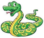 Desenhos animados da serpente Imagem de Stock Royalty Free