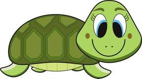 Desenhos animados da tartaruga ilustração do vetor