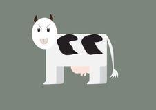 Desenhos animados da vaca Foto de Stock Royalty Free