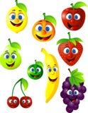 Desenhos animados das frutas Imagem de Stock Royalty Free