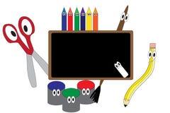 Desenhos animados de Art Supply Fotos de Stock Royalty Free
