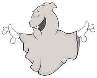Desenhos animados de Ghost Imagens de Stock Royalty Free