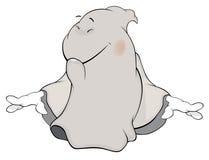 Desenhos animados de Ghost Foto de Stock