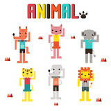 Desenhos animados de Nimal Fotos de Stock Royalty Free