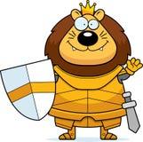 Desenhos animados de ondulação Lion King Armor ilustração royalty free