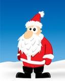 Desenhos animados de Santa Imagem de Stock
