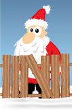 Desenhos animados de Santa Fotografia de Stock Royalty Free