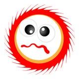 Desenhos animados de Sun Imagens de Stock Royalty Free