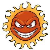 Desenhos animados de Sun Fotos de Stock Royalty Free