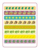 Desenhos animados Dino - jogo de harmonização Fotografia de Stock Royalty Free