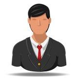 Desenhos animados do ícone do homem de negócio Ilustração Stock