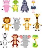 Desenhos animados do animal selvagem Imagem de Stock