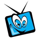 Desenhos animados do aparelho de televisão Fotografia de Stock Royalty Free