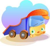 Desenhos animados do bebê do carro Fotografia de Stock