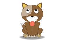 Desenhos animados do cão Imagem de Stock Royalty Free