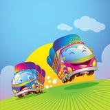 Desenhos animados do caminhão Imagem de Stock
