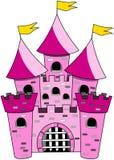 Desenhos animados do castelo isolados Imagem de Stock