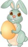 Desenhos animados do coelho de Easter Imagem de Stock