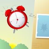 Desenhos animados do despertador Foto de Stock Royalty Free