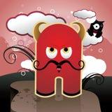 Desenhos animados do diabo   Foto de Stock Royalty Free