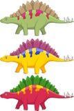 Desenhos animados do dinossauro Fotografia de Stock