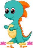 Desenhos animados do dinossauro do bebê ilustração royalty free