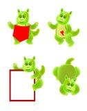 Desenhos animados do dragão Imagens de Stock