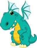 Desenhos animados do dragão ilustração royalty free
