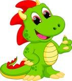 Desenhos animados do dragão ilustração do vetor