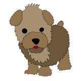 Desenhos animados do filhote de cachorro Imagens de Stock