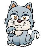 Desenhos animados do gato Fotos de Stock Royalty Free