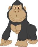 Desenhos animados do gorila do bebê Imagens de Stock Royalty Free