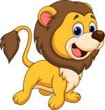 Desenhos animados do leão ilustração stock