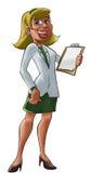 Desenhos animados do médico Imagem de Stock Royalty Free
