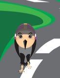 Desenhos animados do pássaro Imagem de Stock Royalty Free