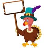 Desenhos animados do pássaro de Turquia Fotografia de Stock Royalty Free