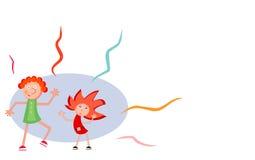 Desenhos animados do partido Imagens de Stock Royalty Free
