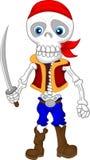 Desenhos animados do pirata Foto de Stock