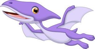 Desenhos animados do pterodátilo Imagem de Stock Royalty Free