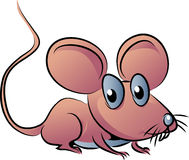 Desenhos animados do rato ilustração stock