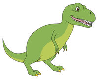 Desenhos animados do rex do Tyrannosaurus Foto de Stock Royalty Free
