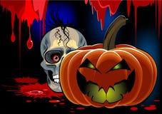 Desenhos animados do sangue de Halloween Fotografia de Stock
