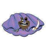 Desenhos animados do shell do mar Foto de Stock