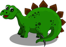 Desenhos animados do Stegosaurus Fotografia de Stock Royalty Free
