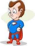 Desenhos animados do super-herói Fotos de Stock Royalty Free
