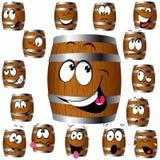 Desenhos animados do tambor Imagem de Stock