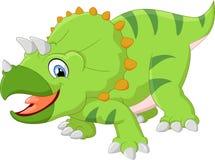 Desenhos animados do Triceratops Imagem de Stock Royalty Free