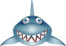 Desenhos animados do tubarão Foto de Stock Royalty Free