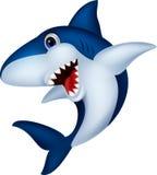 Desenhos animados do tubarão Imagem de Stock Royalty Free